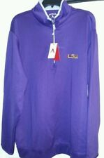 Louisiana state university NWT adult XXLarge pull over by Antigua value $65.nice
