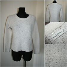 ABERCROMBIE & FITCH Women's SMALL Knit Shiny Jumper / Sweater