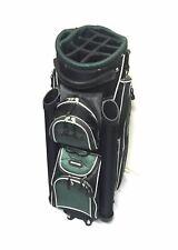 """Ocean Palms Premium Deluxe Cart Golf Bag - 9.5"""" - 14 Way Full Length Dividers"""