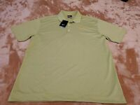 NEW Nike Dri-Fit Mens Polo Shirt Size LARGE green S/S Safeguard
