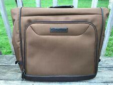 Eddie Bauer River Lodge B-Fold Garment Bag Luggage - Brown MSRP $199