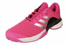 NIB Adidas Barricade 2018 Boost Tennis Shoes AH2093 Shock Pink