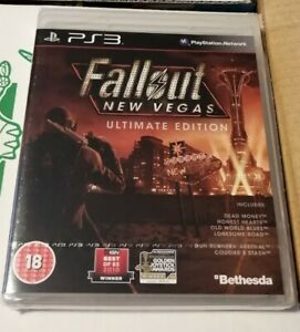 FALLOUT NEW VEGAS ULTIMATE EDITION PS3 PlayStation 3 New & Sealed PAL