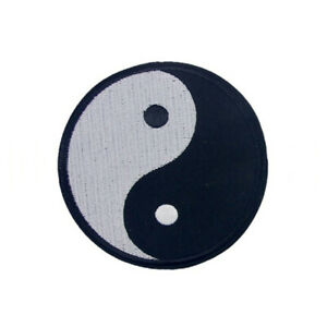 BT_ Chinese Yin-Yang Symbol DIY Applique Embroidered Sew Iron on Patch Newly