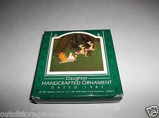 Hallmark Handcrafted Ornament Daughter 1987 QX4637 - NEW