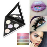Ucanbe 4 Colors Alchemist Holographic eyeshadow palette  Fast Delivery   Pop