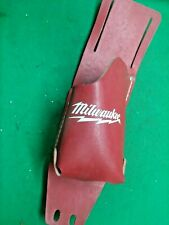 Milwaukee 49-17-0200  Belt Tool Holder Drill Holster Red Leather