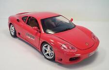 Bburago 1/18 Ferrari 360 Modena rot (1999) Energizer Werbemodell ?? #1883