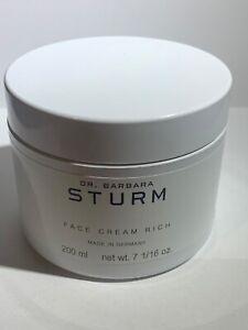 DR.BARBARA STURM face cream rich 200ml new and sealed anti-ageing face cream