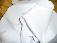 "Leather 8""x10"" PLONGE White Garment Thin Cowhide 1.75oz/.7 mm PeggySueAlso"