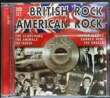 British Rock VS American Rock CD