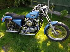 Harley Davidson 1979 1000cc Ironhead  Project chop bobber No reserve