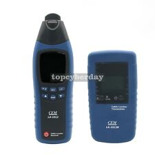 LA-1012 LCD General Cable Fault Locator Tester Meter Receiver with Transmitter