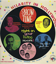 "Mac Maurada's HILARITY IN HOLLYWOOD 12"" Vinyl LP Comedy Music Album EX Mono 1958"