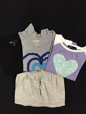 GAP & OLD NAVY Size X-Small 4-5 Girls Short/Long Sleeve Shirts & Skirt Children