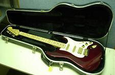 = 2000 Fender Stratocaster Mexico Burgundy with Fender Molded Hard Case