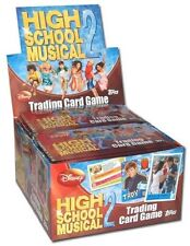 DISNEY HIGH SCHOOL MUSICAL 2 JEU DE CARTES À COLLECTIONNER - 5 PAQUETS DE CARTES