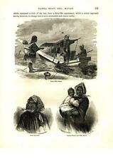 Tanka Boat & Boat Girl-Chinese Woman & Child, Macao - Adm. Perry Expedition-1856