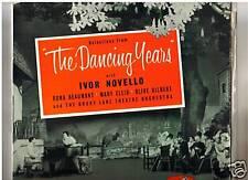 The Dancing Years - 1939 Ivor Novello - Orig UK Cast LP