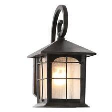 1 Outdoor Lantern Wall Light Exterior Light Aged Bronze Sconce Fixture Craftsman