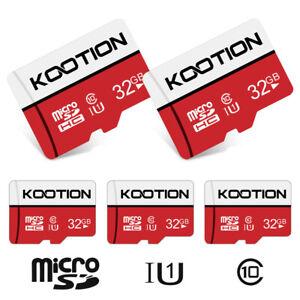 2 Pack 32GB 64GB Micro SD Card SDXC SDHC Flash Class 10 Memory TF Card Storage