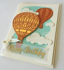 Handmade Hot Air Balloon Birthday Card ~ made w/ Stampin Up & other prod