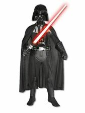 Darth Vader Deluxe Boys Costume Star Wars Sith Villain Kid Fancy Dress Up Outfit