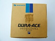 SHIMANO DURA ACE L-600 FRICTION BAR-END SHIFTERS - NOS - NIB