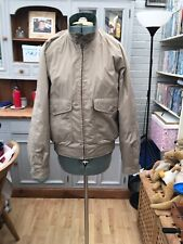 Mens M&s Shory Beige Casual Jacket Size Small