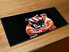 Rocky vs Ivan Drago Dolph Lundgren Rocky 4 pop art bar runner counter mat