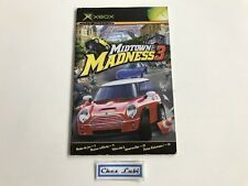 Notice - Midtown Madness 3 - Microsoft Xbox - PAL FR