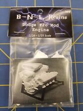 B-N-L Resins Dodge Pro Mod Engine 1/24 - 1/25 Model Kit Mid America