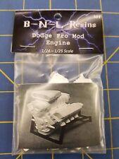 B-N-L Resins Dodge Pro Mod Engine 1/24 - 1/25 Model Kit Mid America