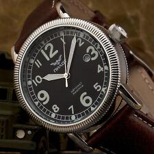 Aviator Watch Automatic B-Watch Pilot Military Retro Analog Watch 43mm Sw