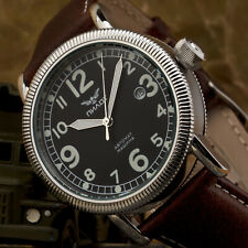 Fliegeruhr Automatik B-Uhr PILOT Military Retro mechanische Uhr 43mm SW