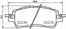 2223501 TEXTAR Auto Bremsbeläge Vorne