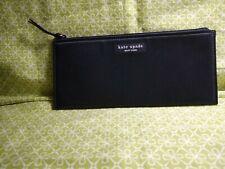 Kate Spade New York Pencil Case Black Cosmetic Case Zipper Pouch