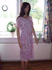 Pero Umstandskleid leichtes Sommerkleid rosa rosé mit Bindegürtel Grösse 38 neu