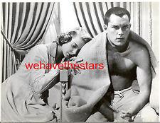 Vintage Jeffrey Hunter BEEFCAKE HANDSOME '58 LOVE & WAR Publicity Portrait