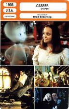 Fiche Cinéma. Movie Card. Casper (USA) 1995 Brad Silberling