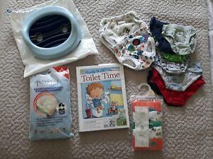 Boys Toilet/ Potty Training Essentials: pants, travel potty ect, see discription