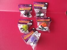 """5 OLD HALLOWEEN PARTY FAVORS CLASSIC """"HALLOWEEN PARATROOPERS"""" 2.5""""IN TALL"""