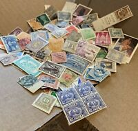 WW STAMPS BOX LOT OFF PAPER. THOUSANDS OF STAMPS, OVER 50 FOREIGN COUNTRIES