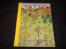 1950 APRIL 22 NEW YORKER MAGAZINE - BEAUTIFUL FRONT COVER FOR FRAMING- J 1296