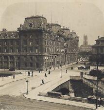 Paris La Préfecture de Police Stéréo Stereoview Vintage ca 1920