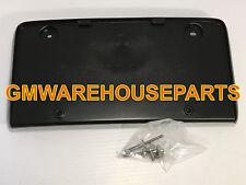 2006-2013 IMPALA FRONT LICENSE PLATE HOLDER MOUNTING BRACKET NEW GM # 10337110