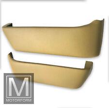 2 Türtaschen beige Mercedes SL R107 W107 Türtasche Kartentasche door pockets neu