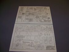 VINTAGE..SOPWITH CAMEL 1F.1 & 2F.1 ...4-VIEWS/CROSS SECTIONS.....(272B)