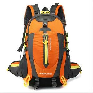 40L Backpack Outdoor Sports Bag Travel Camping Hiking Daypack Trekking Rucksack