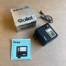 Rollei 100 XLC flash gun in original box - used - in good condition - working